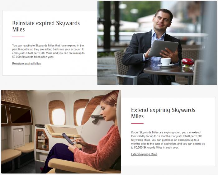 Emirates Skywards Mile Extension