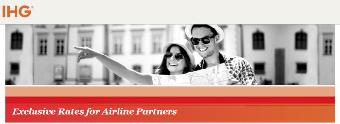 IHG Rewards Club Airline Staff Rate