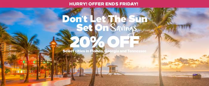 Hilton Honors Florida Georgia Tennessee Sale August 2018