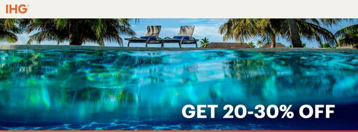 IHG Rewards Club Endless Summer Sale Americas Through December 29 2018