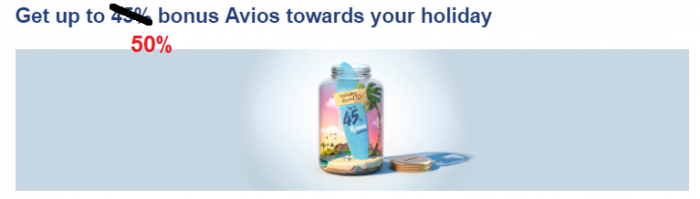 British Airways Executive Club Buy Avios Promo October 2018