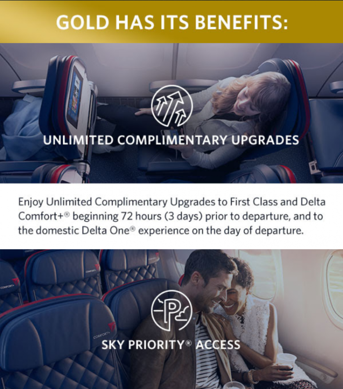 Delta Gold Medallion Status For Six Months + Offer To Keep