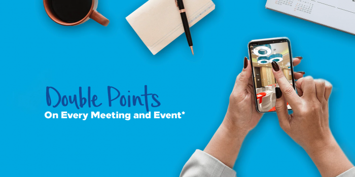 Hilton Honors Event Planner Promo Fall 2018