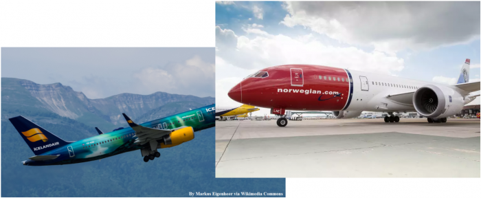 Icelandair & Norwegian