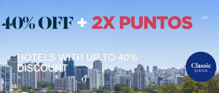 Le Club AccorHotels South America Double Points Fall 2018