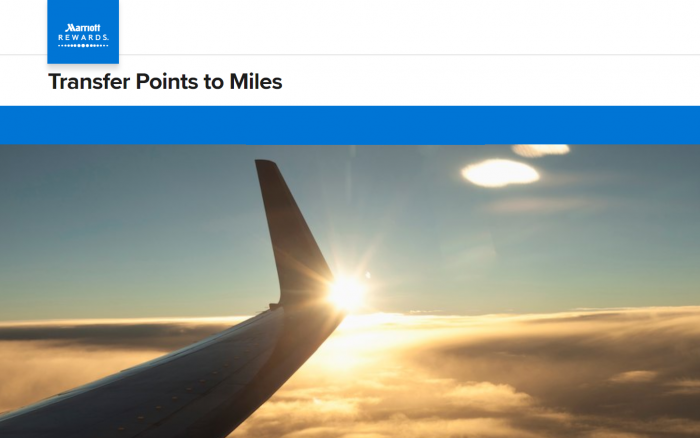 Marriott Rewards Points To Airline Miles