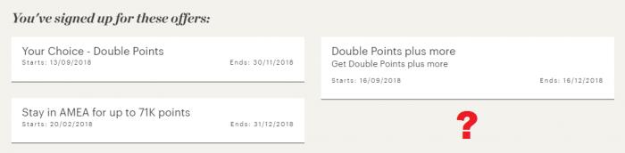 IHG Rewards Club My Offers November 1 2018