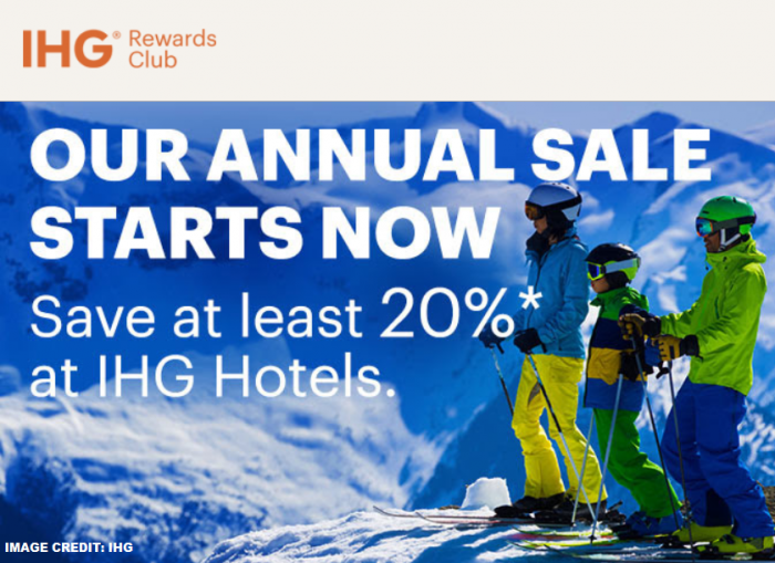 IHG Rewards Club US Annual Sale