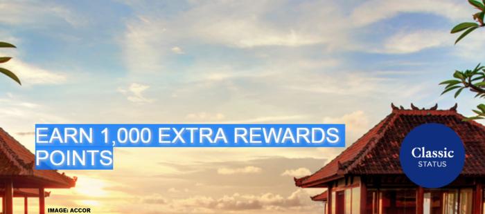Le Club AccorHotels 1000 Bonus Points For A Stay Fall 2018