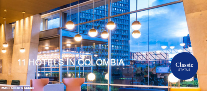 Le Club AccorHotels Colombia Offer Fall 2018