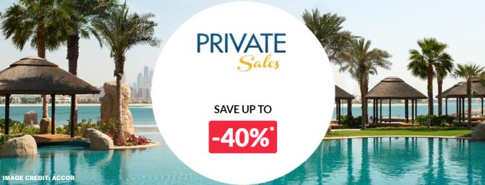 Le Club AccorHotels Private Sales November 13 2018