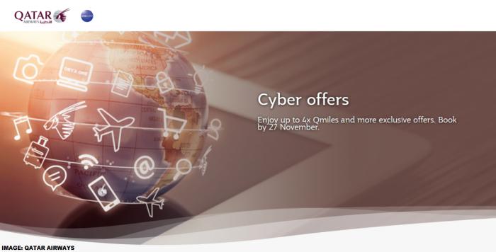 Qatar Airways Privilege Club Cyber Offers 2018