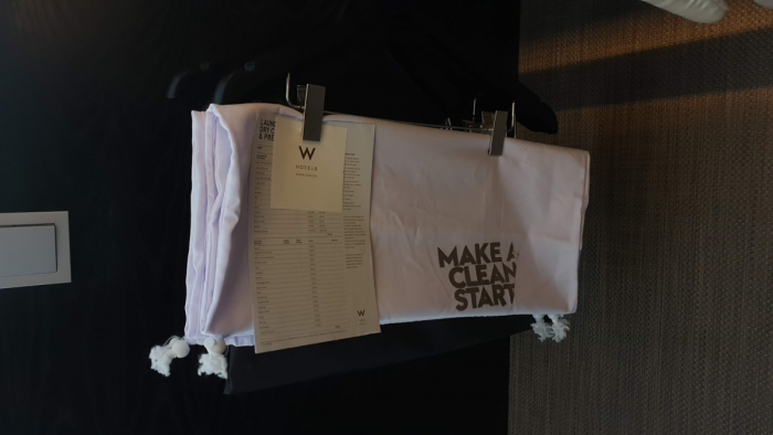 W Bali Fixed Price Laundry