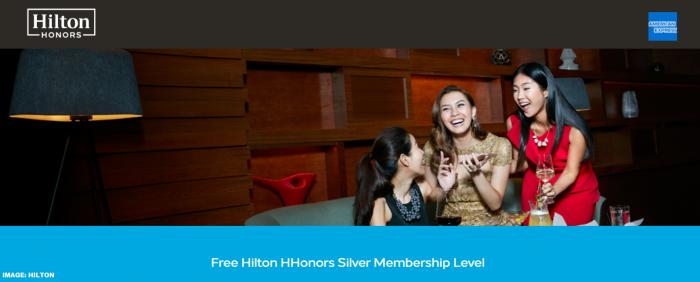 Hilton Honors Free Silver Amex
