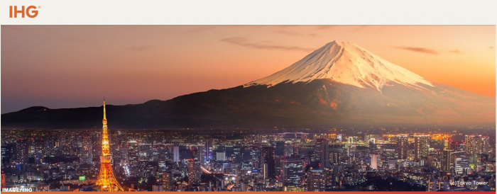 IHG Rewards Club Japan 2018 Winter Sale 2018