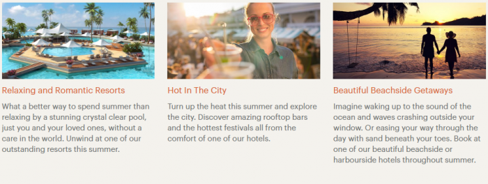 IHG Rewards Easy Like It Summer Australasia Destinations