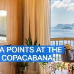 Le CLub AccorHotels Fairmont Copacabana Bonus Points U