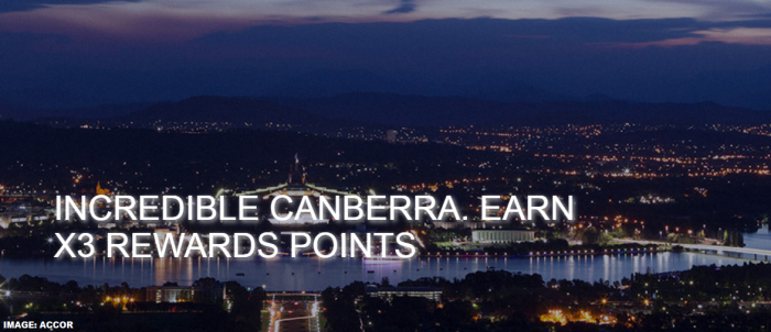 Le Club AccorHotels Canberra Triple Points