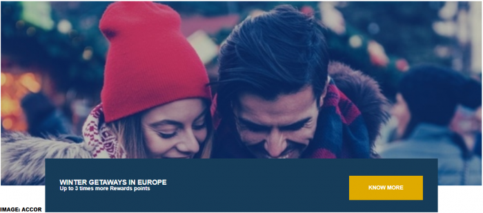 Le Club AccorHotels Europe Triple Points Winter 2019