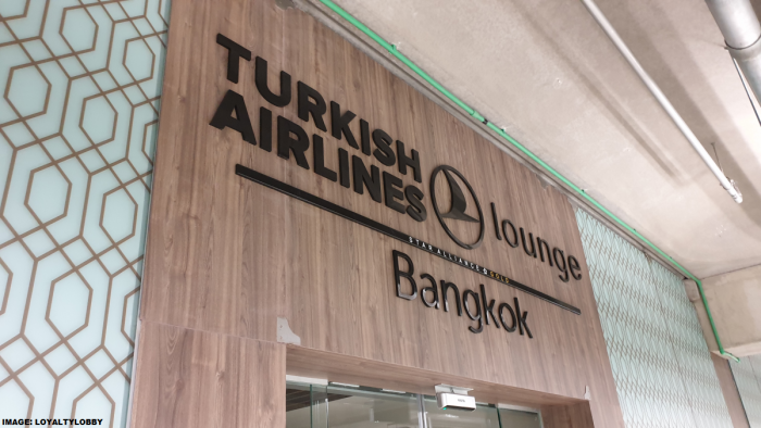 Turkish Airlines Lounge Bangkok