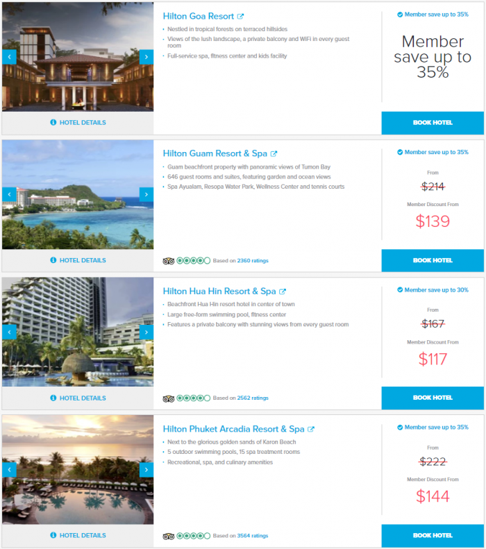 Hilton Asia Pacific Resorts Sale February 2019 Hotels 14 UPD
