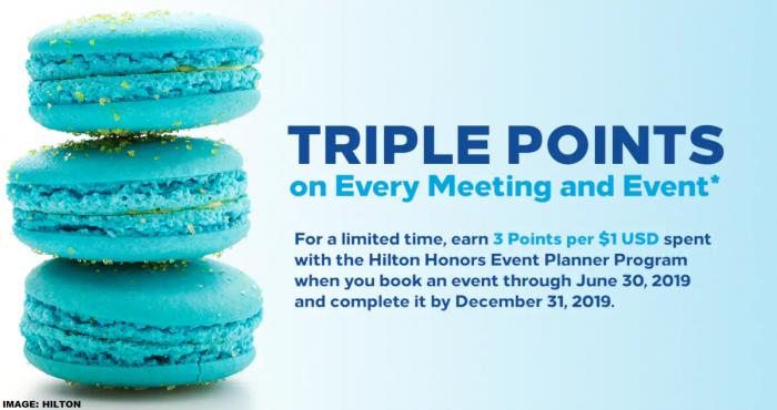 Hilton Honors Meeting Planner Bonus