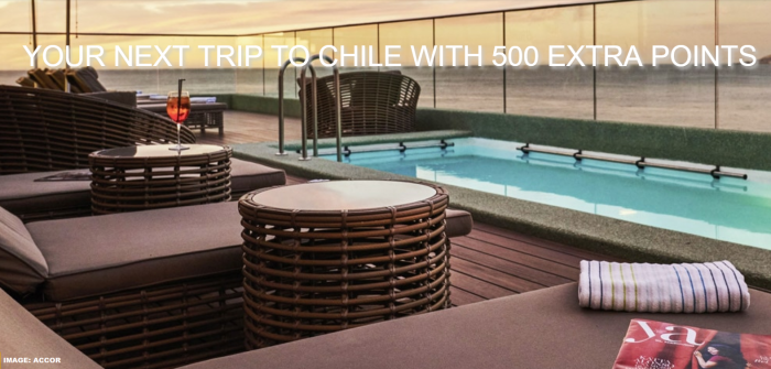 Le Club AccorHotels Chile Bonus Points Spring 2019