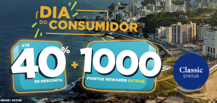 Le Club AccorHotels South America Up To 40% Off + 1,000 Bonus Points