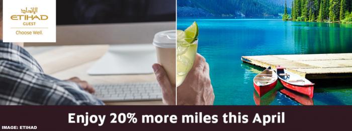 Etihad Airways Guest Conversion Promotion April 2019