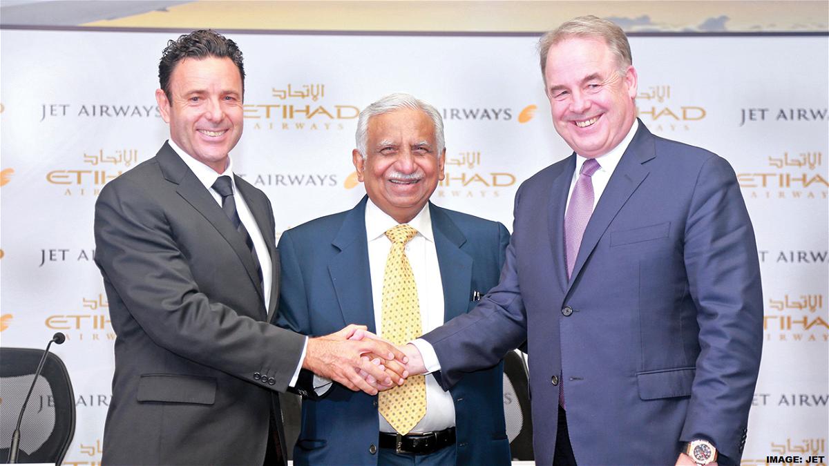 Jet Airways Etihad Handshake