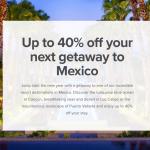 Marriott Bonvoy Mexico Sale