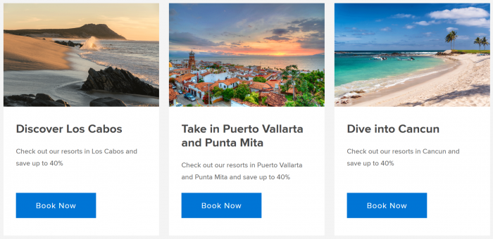 Marriott Bonvoy Mexico Sale Destinations