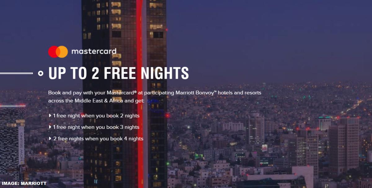 Marriott Bonvoy Middle East Promo