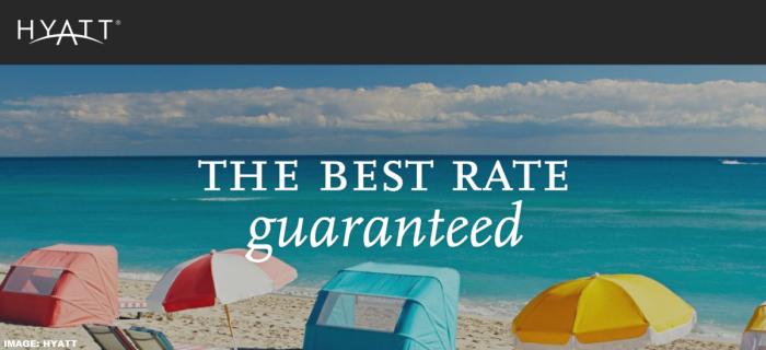 World of Hyatt Best Rate Guarantee