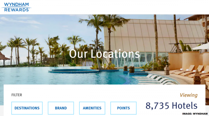 Wyndham Rewards Award Chart Changes