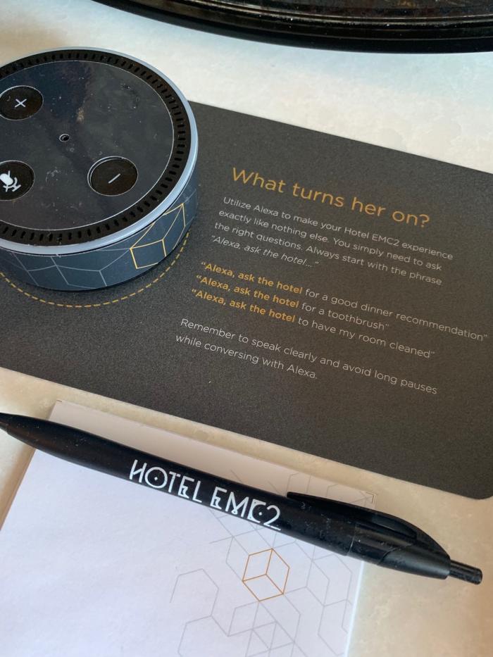 Fabulous Fridays Hotel Robots Alexa
