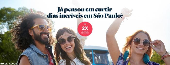 Le Club AccorHotels Sao Paulo Double Points June 2019