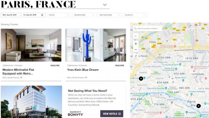 Marriott Bonvoy Homes & Villas Paris