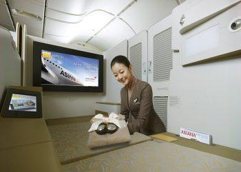 Asiana First Class Suite.