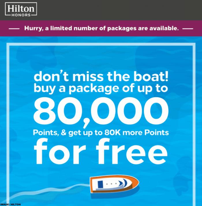Hilton Honors Buy Points Flash Sale June 2019