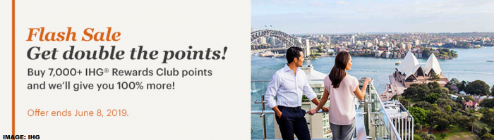 IHG Rewards Club Buy Points Flash Sale June 2019