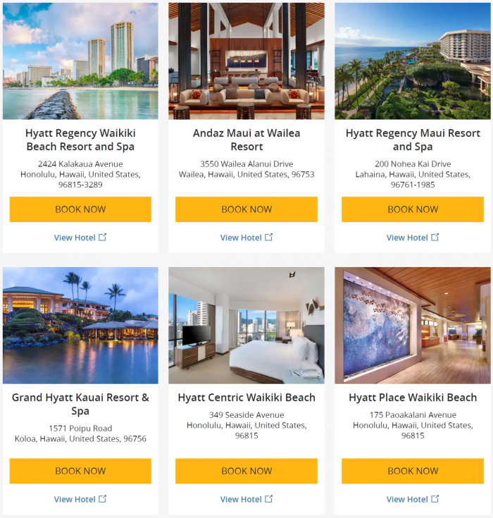 World of Hyatt Hawaiian Airlines Offer 2019 Hotels