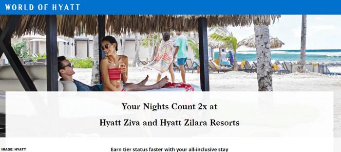 World of Hyatt Ziva & Zilara