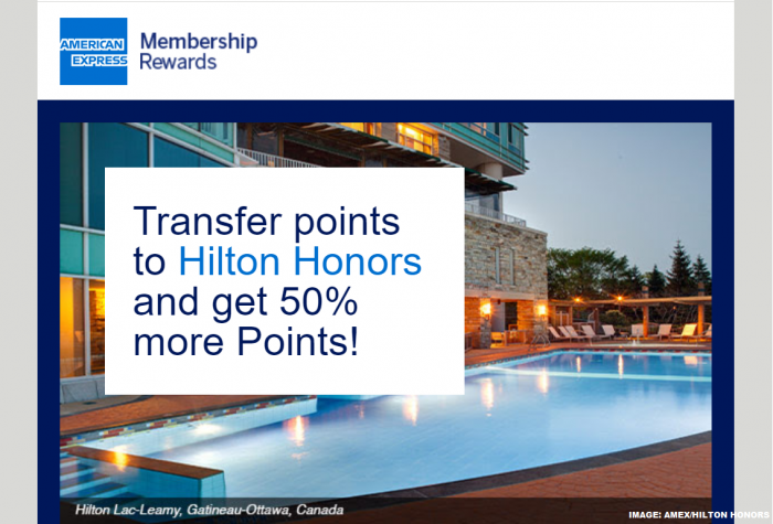 American Express Hilton Honors Conversion Offer