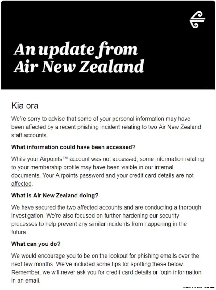 Air New Zealand Hack