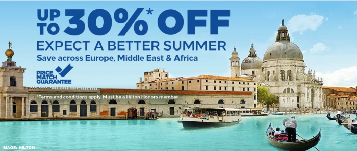 Hilton Europe Middle East Africa Sale