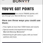 Marriott Bonvoy Points
