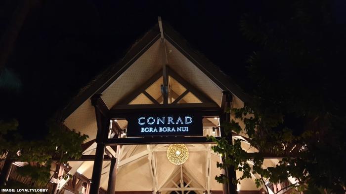 Conrad Bora Bora Nui Night