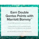 Marriott Bonvoy Qantas Frequent Flyer