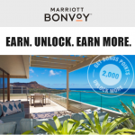 Marriott Bonvoy Unlock More-Promotion Additional Offers